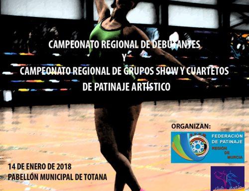 Patinaje Artístico: Campeonato Regional de Grupos Show y Debutantes