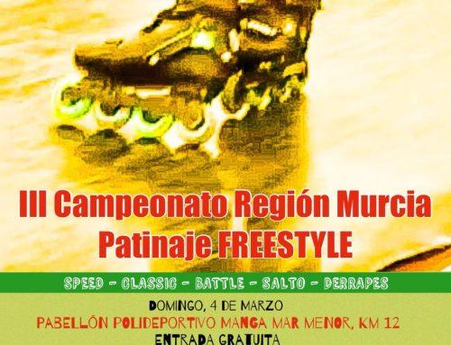 III Campeonato Región de Murcia de Patinaje FREESTYLE