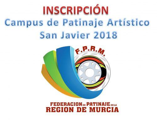 IV Campus de Patinaje Artístico San Javier 2018