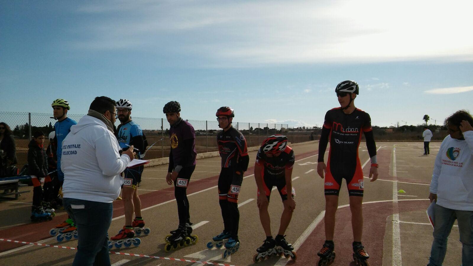 Resultados sedes 1 y 3 Campeonato Regional Velocidad