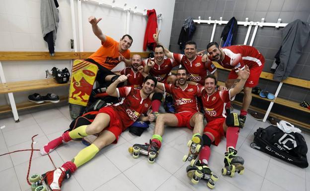 El Club Patín Hockey Ciudad de Murcia peleando por el ascenso