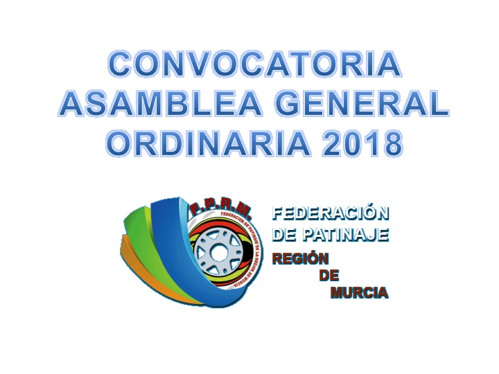Convocatoria Asamblea General Ordinaria 2018