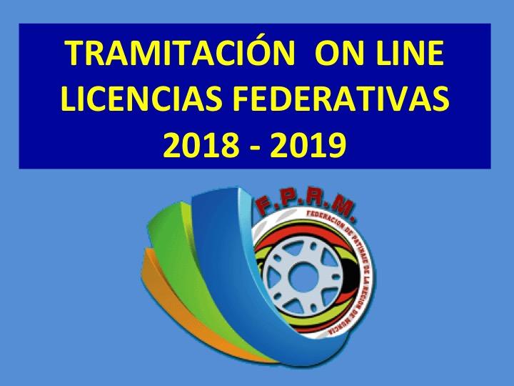 LICENCIAS FEDERATIVAS 2018 – 2019